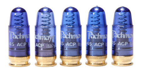 Pachmayr 03228 Snap Caps Handgun Rounds 40 S&W Plastic w/Brass Base 5
