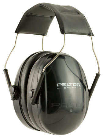3M Peltor 97070 Junior Hearing Protection NRR 17 Muffs Black