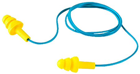 3M Peltor 97317 Corded Earplugs 33dB Blue/Yellow 1 Pair