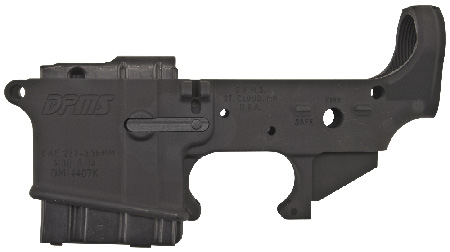 DPMS LR05TL Stripped Lower California Appr AR-15 AR Platform 223 Rem/5.56 Blk