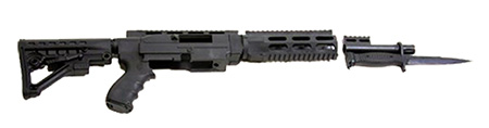Archangel AA556R ARS Rifle  Black
