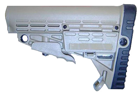 Command Arms CBS AR-15 Collapsable Commercial Stock No Buffer Tube Tan