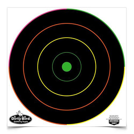 Birchwood Casey 35830 Dirty Bird Multi-Color Splattering Targets 12 Pack