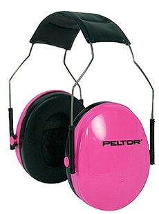 3M Peltor 97022 Junior Hearing Protection NRR 17 Muffs Pink