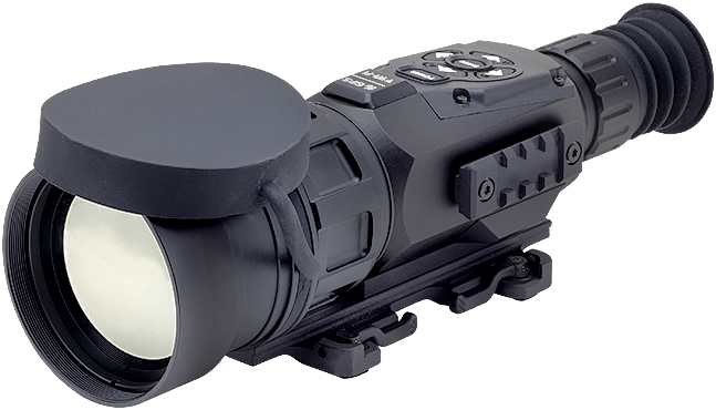 ATN Thor-HD640-5-50x, 640×480, 100mm, Thermal Rifle Scope with Full HD Video rec, WiFi, GPS
