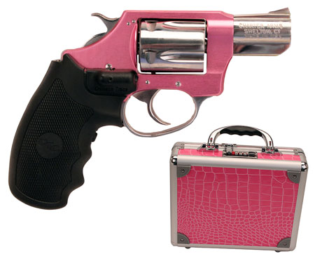 Charter Arms 53832 38 UL Chic  Lady 38Spl 2″ 5rd CT Grip Pink Alum/SS Pink Case