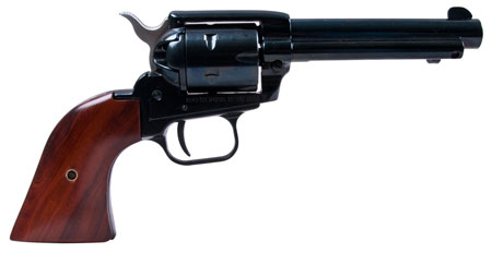 Heritage RR22MB4 Rough Rider 22LR/22 Mag 4.75″ 6rd Cocobolo Grip Blued