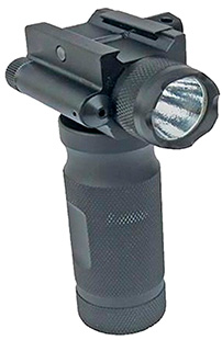Sun Optics CVFG Tactical Forend Grip W/ 250 Lumen Light /Green Laser