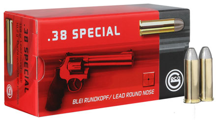 GECO 271640050 38 Special Full Metal Jacket FN 158 GR 50Box/20Case