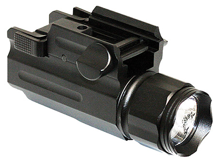 Aim Sports FQ150 Flashlight w/Quick-Release Mount 150 Lumens Aluminum Black
