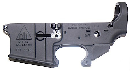 Del-Ton Inc LR100 DTI-15 AR-15 Lower Receiver Stripped 223/5.56