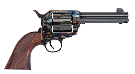 Traditions SAT73002 1873 Single Action Revolver Frontier 45 Long Colt 4.75″