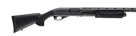 Hogue 08732 Overmold Shotgun Stock/Forend Remington 870 Youth Black