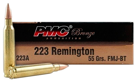 PMC 223AMB Bulk Rifle 223 Rem/5.56 NATO FMJBT 55GR 2-840 Box