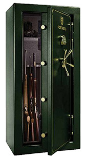 Heritage Safe FS30T Fire Safe 95GN Green 30 Gun ELQ 11Gauge Steel