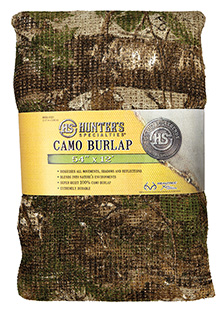 HS 07221 BURLAP XTRA GREEN 12FTX54IN