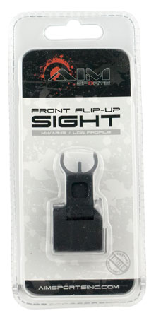 Aim Sports MT200 AR Low Profile Flip Up Front Sights AR-15 Black