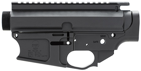 DRD Tactical M762REC Upper/Lower Stripped 7.62 NATO Black