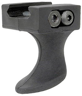 Ergo 4201SSBK Ergo Sure Stop Tactical Rail Hand Stop  Black