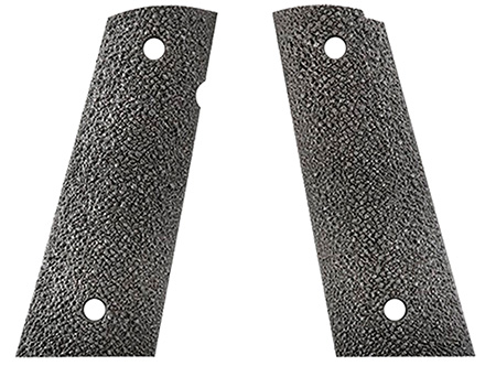 Ergo 4510BK Ergo XT Square Bottom Grip 1911 Aggressive Textured Hard Rubber Black