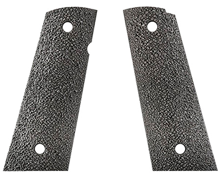 Ergo 4511BK Ergo XT Tapered Bottom Grip 1911 Aggressive Textured Hard Rubber Black