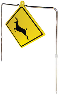 Do All Traps DC10 Impact Seal Deer Crossing Sign Self Healing Spinning Target