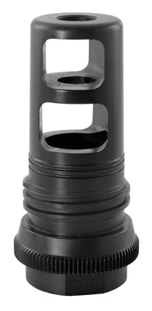AAC 104034 90T Taper Muzzle Brake 7.62mm Nitride 5/8x24TPI 17-4 SS Black Nitride