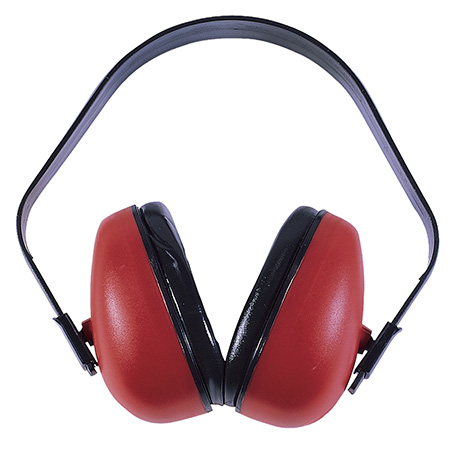 Radians DF0310HC Def-Guard Earmuffs NRR 23dB Red/Black