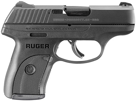 Ruger 3235 LC9s Standard DAO 9mm 3.1″ 7+1 Blk Poly Grip/Frame Blued