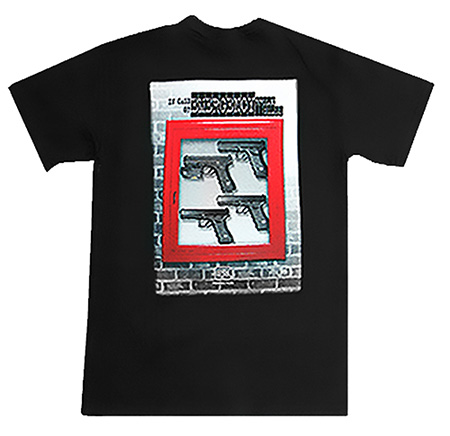 Glock AA10056 In Case of Emergency T-Shirt Medium Cotton Gray Short Sleeve