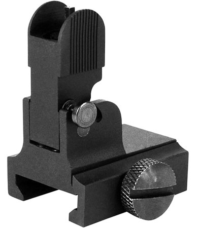 Aim Sports MT034 AR-15/M16 Flip Up Front Sight Aluminum Black
