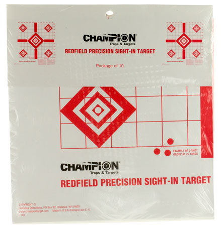 Champion Targets 47387 Sight In Targets 100 Pack