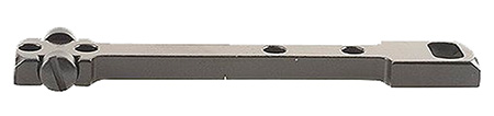 Redfield 47171 1-Piece Dovetail Base For Remington 4,6,7400,7600 Black Finish