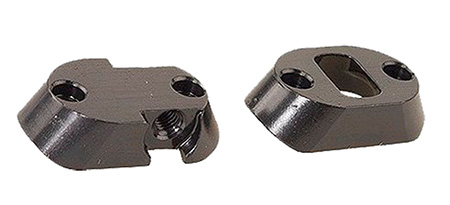 Redfield 47185 2-Piece Dual Dovetail Base For Colt Sauer Matte Black Finish