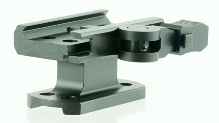Aim Sports MTQDR1 Mount Bracket For AimPoint Quick Release Style Blk Finish