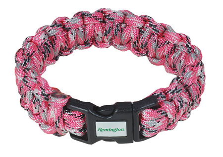 REM 17388 HERO CORD BRACELET 7IN  PINK
