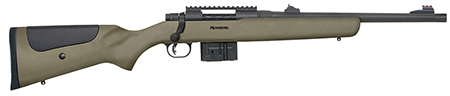 Mossberg 27699 MVP LR Tactical Bolt 308 Win 16.3″ 10+1 Green Synthetic Stk Blued