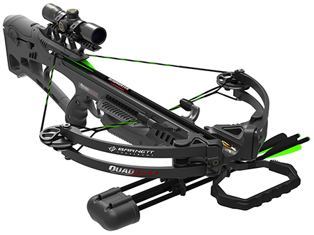 Barnett Crossbows 78040 Quad Edge Crossbow/Scope Package Black