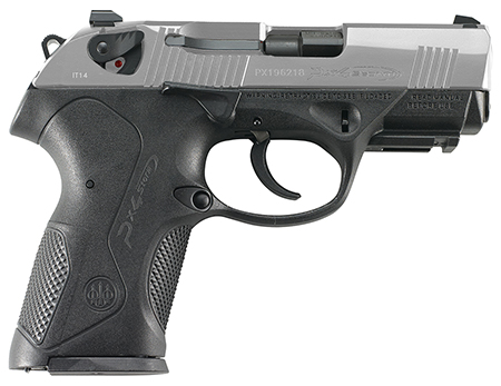 Beretta USA JXC4F51 Px4 Storm Compact S/D 40  3.3″ 12+1 Stainless Steel
